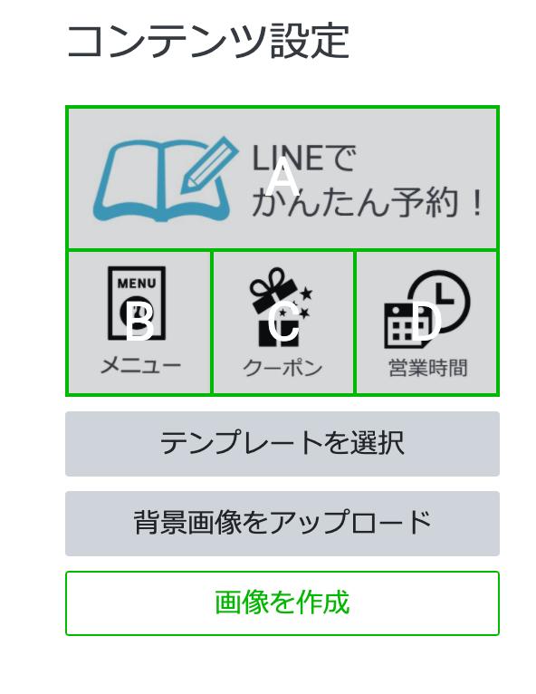 LINE公式アカウントイージーメーカー操作完了画面