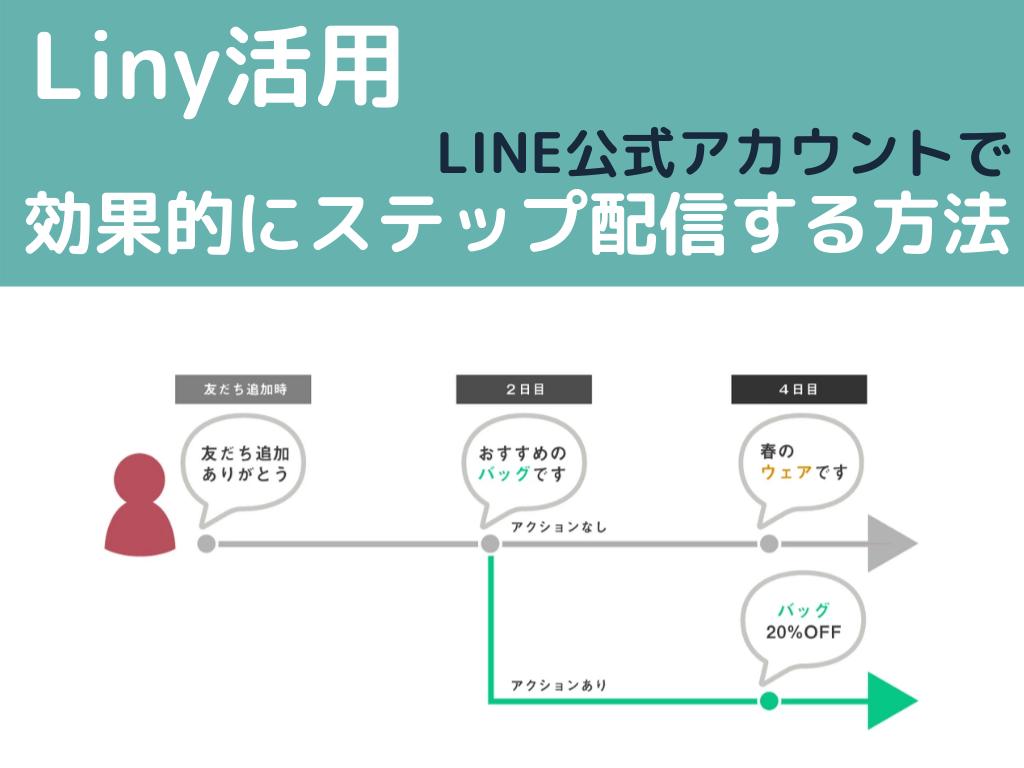ステップ配信_Liny